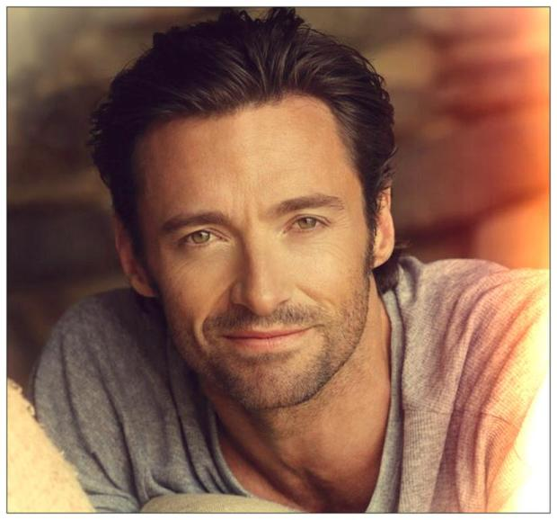 Because it's Friday - therefore Hugh Jackman ...