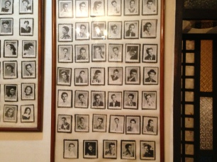 Leading actors of Philippine movies, mostly from the 1930s to the early '60s.
